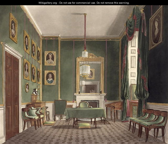 Buckingham House, The Green Closet