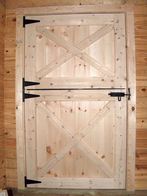 Dutch Door Package Black Hw Barn Depot
