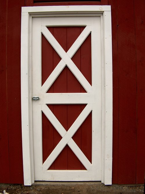Entry Door Slab Only Barn Depot