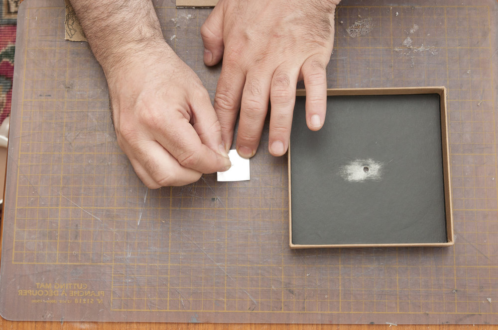 Follow our guide to making a  pinhole here.