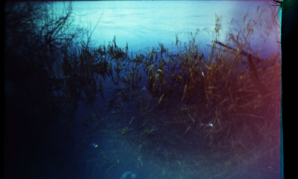 The waters edge. Matchbox Camera - Fuji C200