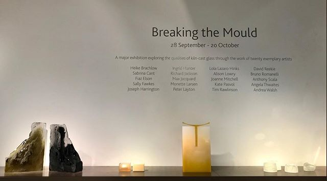 "If you are in London, please go and see London glassblowing themed exhibition ""Breaking The Mould"" Beautiful and amazing! Curated by Cathryn Shilling You can find the exhibition catalogue online at there website. . . . . . #Londonglassblowing #cathrynshilling #glass #castglass #breakinthemould #castglassart #glasswork #glasscollection #glassblowing #instaglass #mortenklitgaardglass #glassart #contemporaryglass #london #mouldmaking #londonartexhibition #londonartscene #glassofig #workofart #craft #breakingthemould #contemporaryart @londonglassblowing @cathrynshilling"