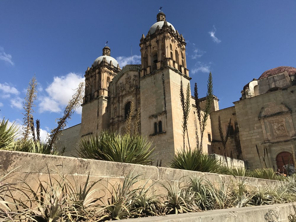 Church of Santo Domingo in Oaxaca City.