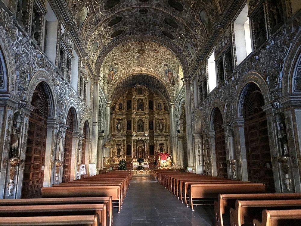 Church of Santo Domingo. Oaxaca, Mexico.