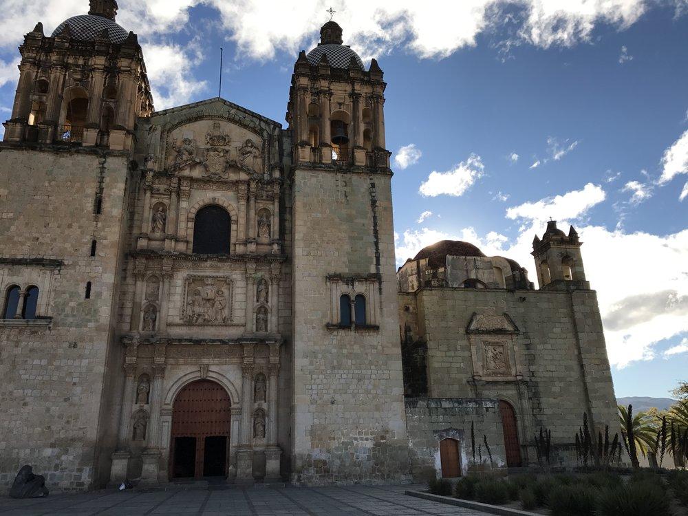 Church of Santo Domingo, Oaxaca.