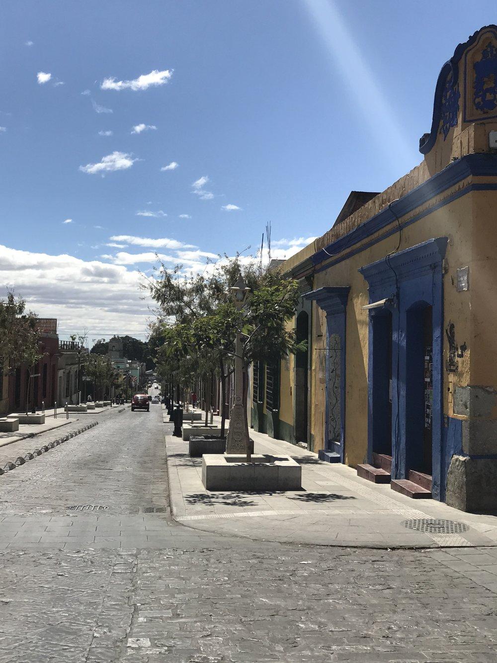 Oaxaca City.
