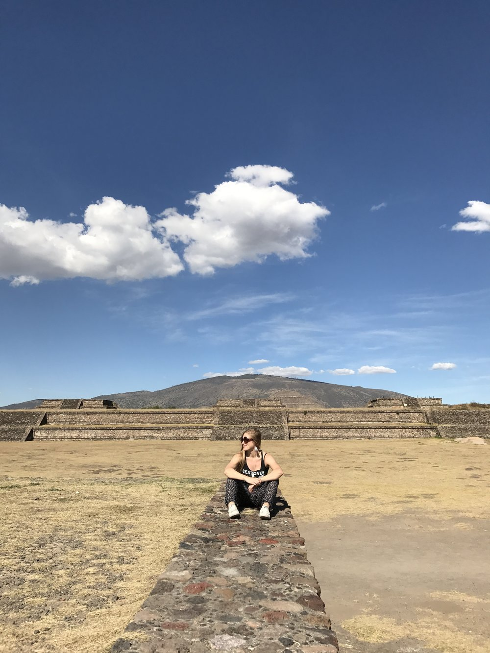 Pyramid of the Sun. Teotihuacan, Mexico.