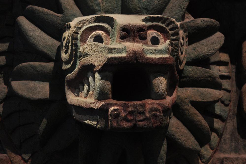 Quetzacoatl. Teotihuacan, Mexico.