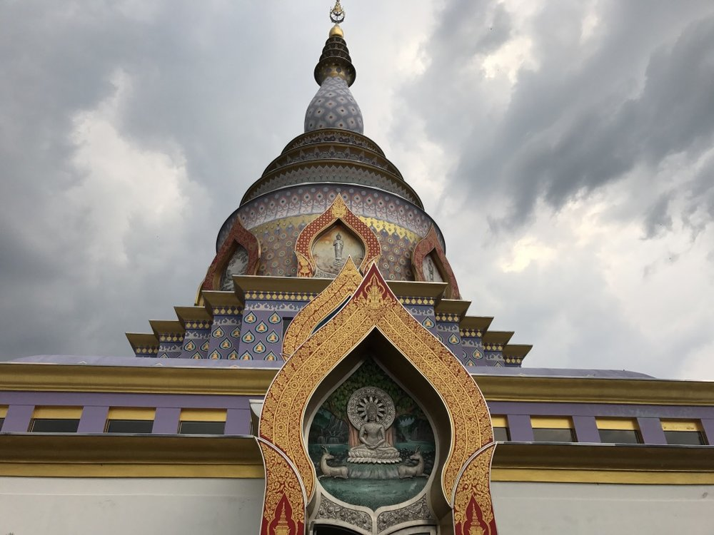 Crystal Pagoda, 7th level of Wat Thaton.