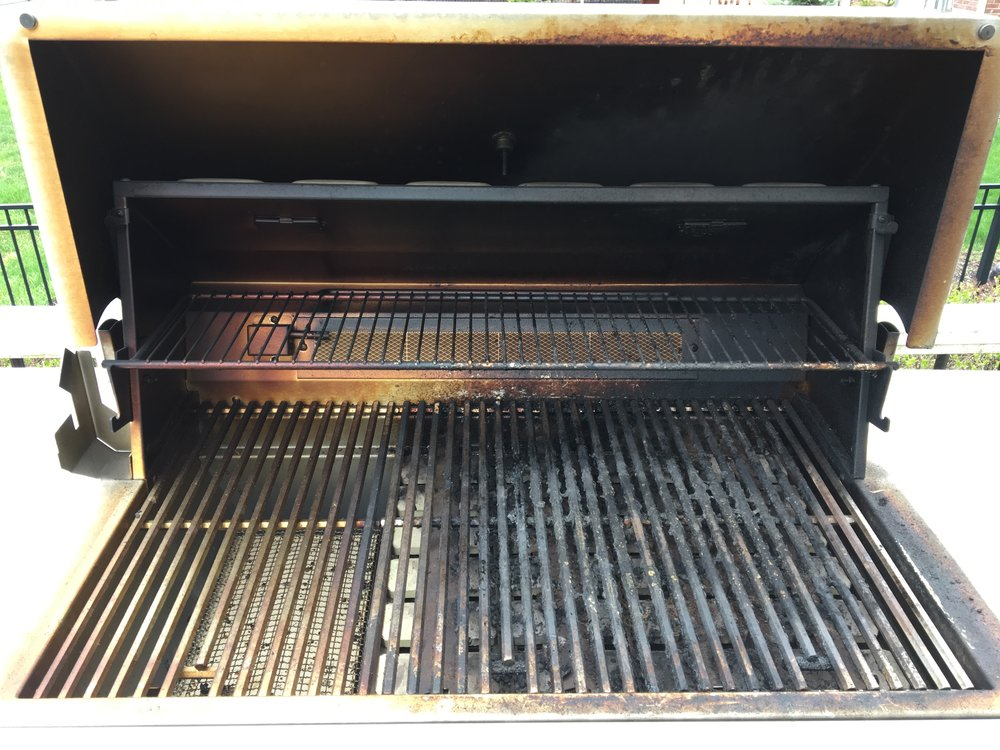 Dramatic results on this beautiful grill at Geist.
