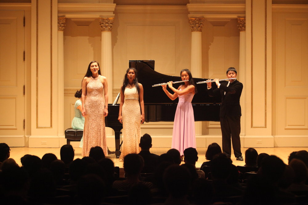 Congrats to students at Carnegie Hall winner's recital! - Students of Ms. Yelena, Ms. Trill, and Ms. HarunaAFAF International Competition 2018  Romantic Music Category 1st Place