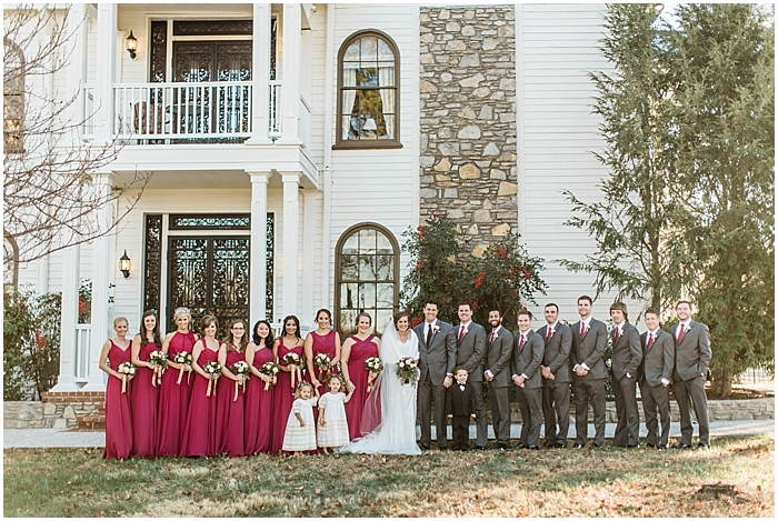 Classy Christmas Legacy Farms Wedding | Nashville Wedding Photographer_0039.jpg