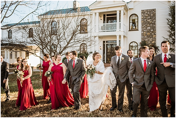 Classy Christmas Legacy Farms Wedding | Nashville Wedding Photographer_0043.jpg