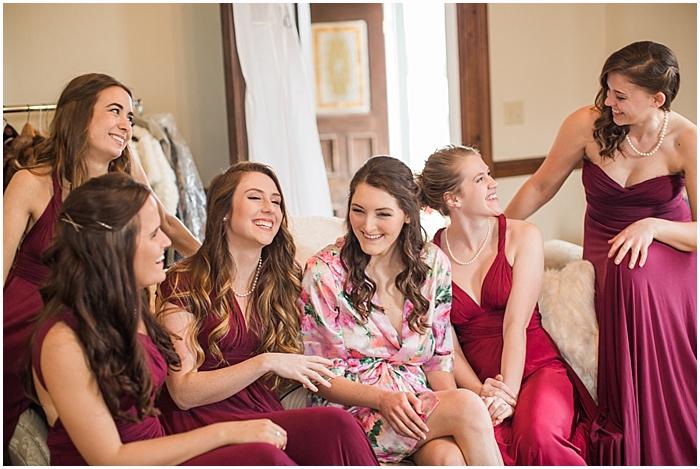 Nashville Wedding Bridal Party Fun at Battle Mountain Farms