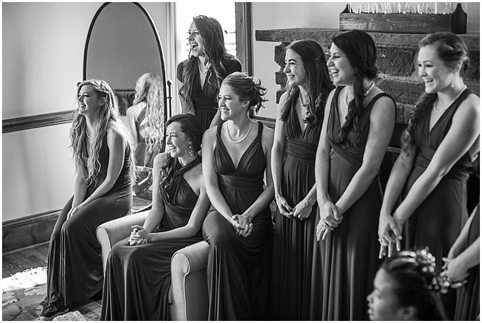 Bridesmaids Getting Ready Nashville Wedding