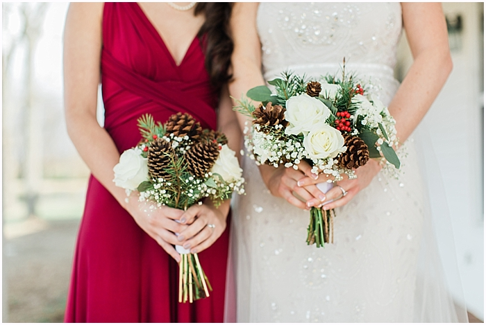 Nashville Winter Wedding Flowers captured by Nashvilles Best Wedding Photographer