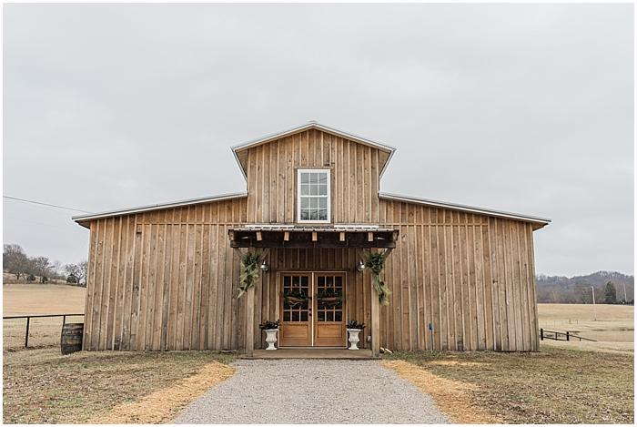 Battle Mountain Farms Winter Wedding Photography Location