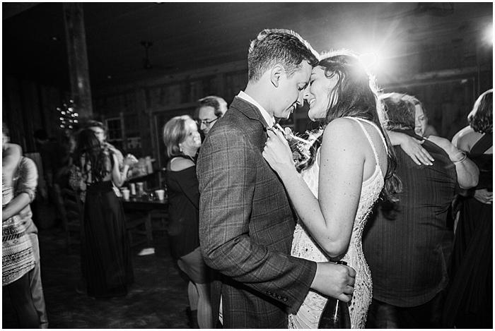 First Dance Winter Wedding Photography Nashville TN