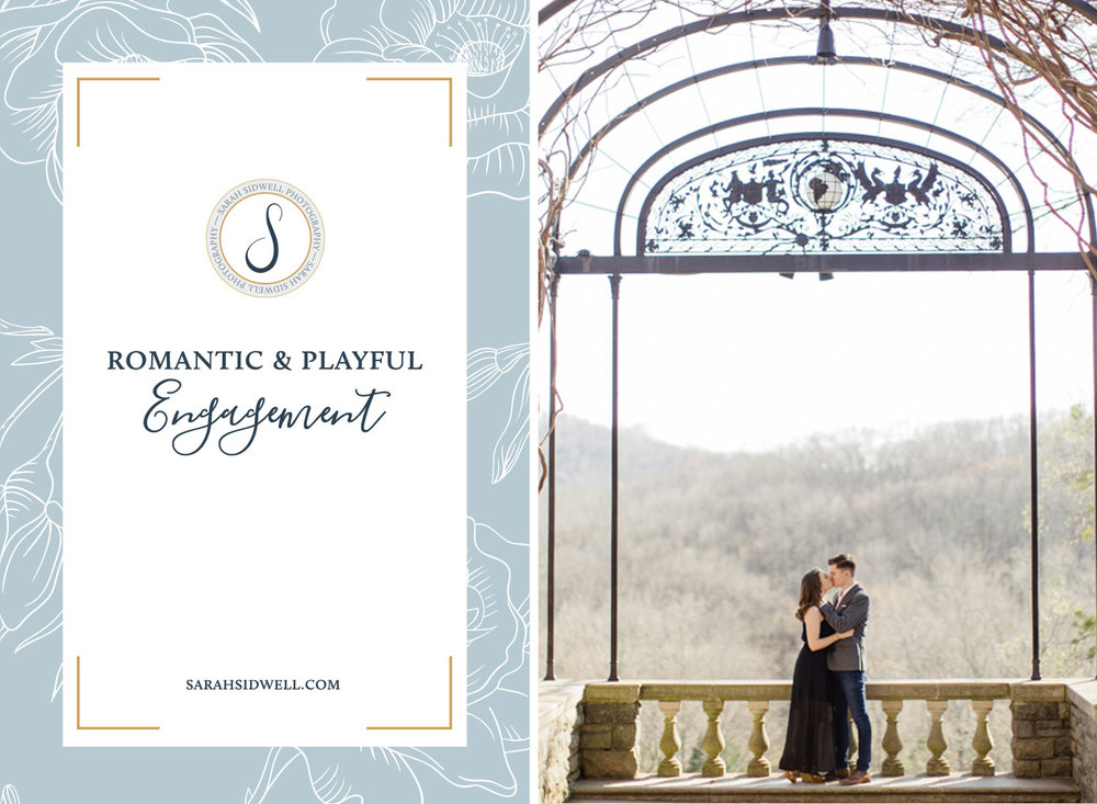 couple chooses nashville's best locations for their engagemnt session when they visit Cheekwood & Pinewood Social during their photo session.jpg