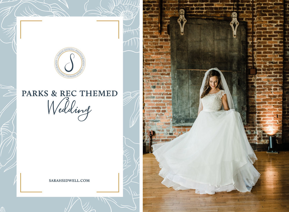bride and groom plan a destination wedding in nashville tennessee with a parks and rec theme at the cannery one venue with franklin photographer.jpg