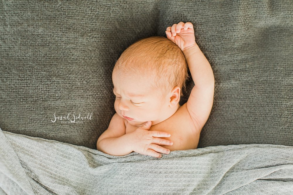 A new baby sleeps  | Sarah Sidwell Photography | Newborn Love