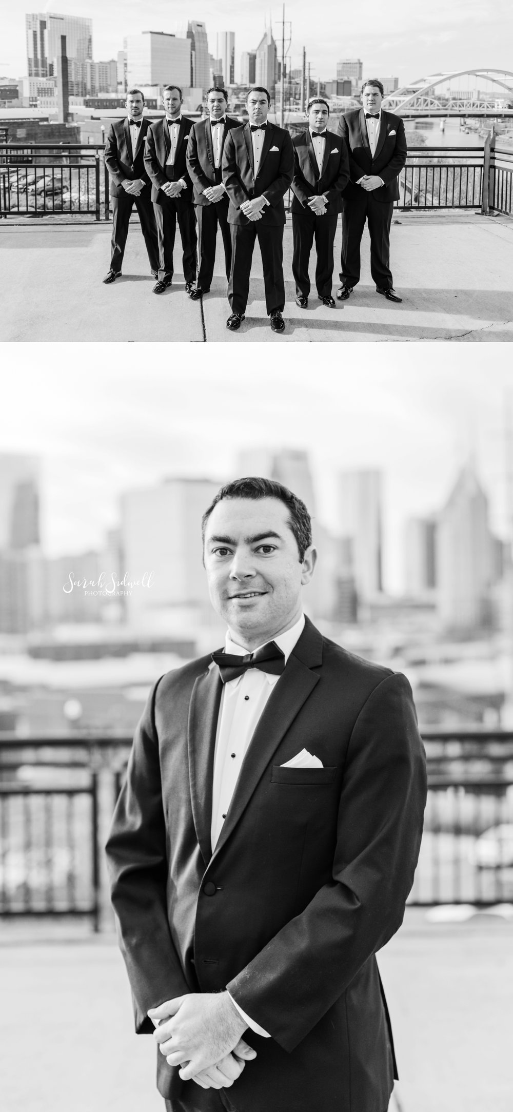A groom stands ready for his wedding | Sarah Sidwell Photography | The Bell Tower