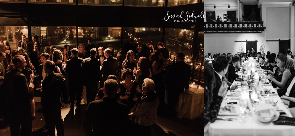 A family enjoys a wedding reception | Sarah Sidwell Photography | The Bell Tower