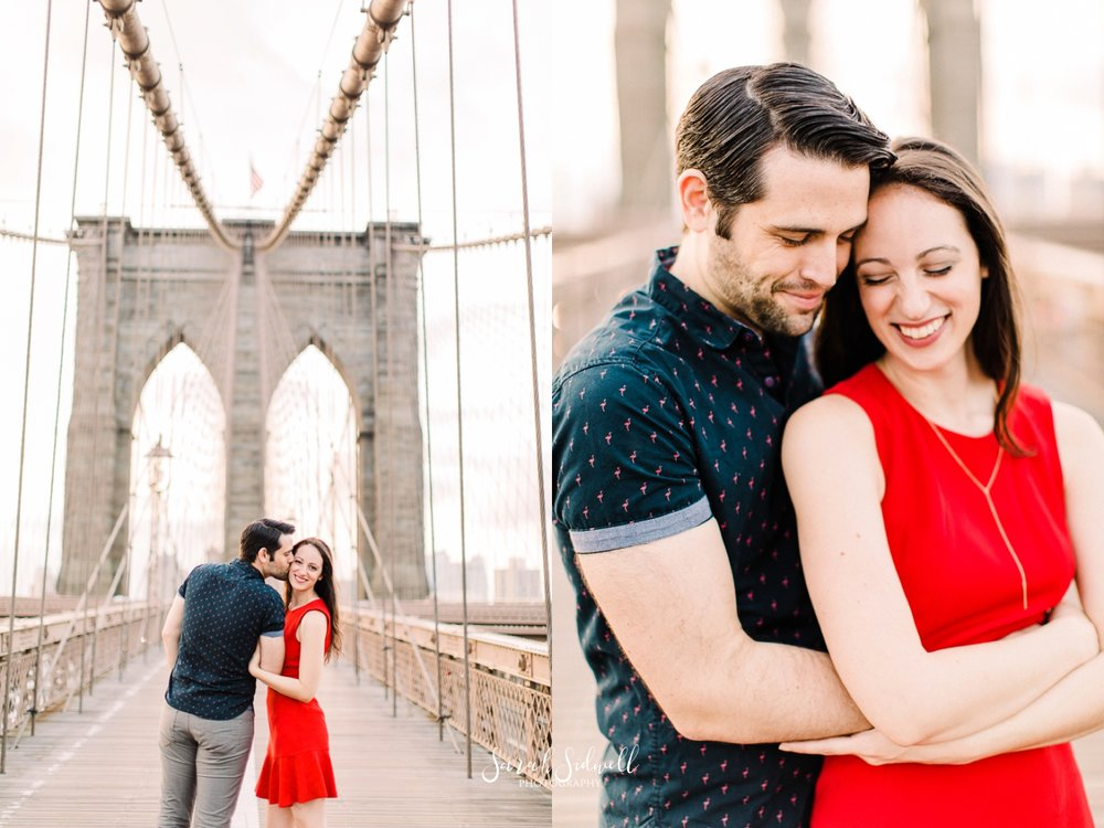 A man hugs his fiance.  | Sarah Sidwell Photography | Nashville Engagement Photographer