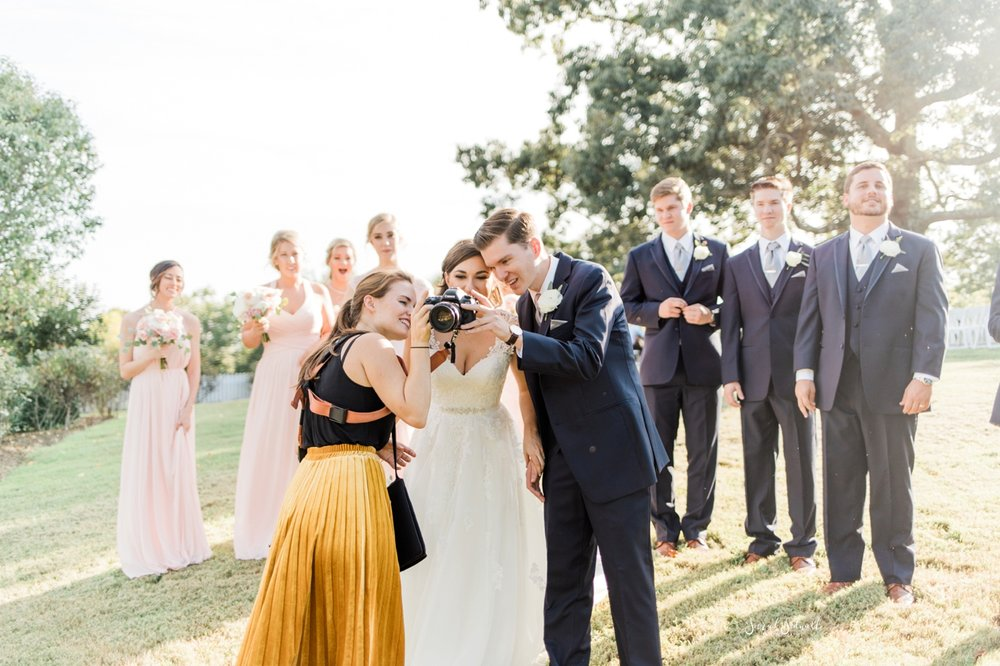 Wedding photography by Sarah Sidwell.