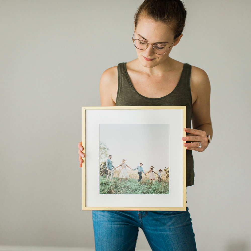 Photo gallery wall | Sarah Sidwell Photography