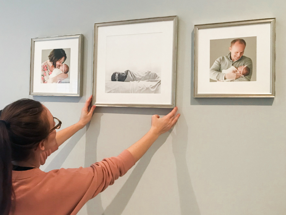 Newborn Gallery Wall | Sarah Sidwell Photography