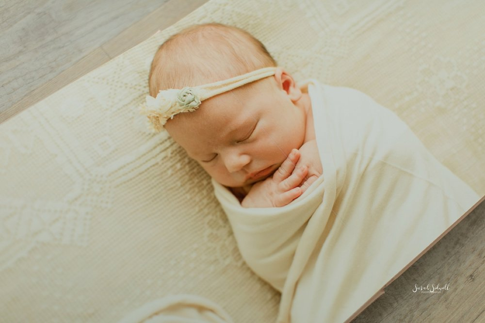 Newborn Photo Album | Sarah Sidwell Photography