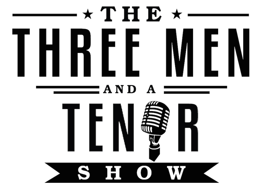 Official Three Men and a Tenor Show Logo