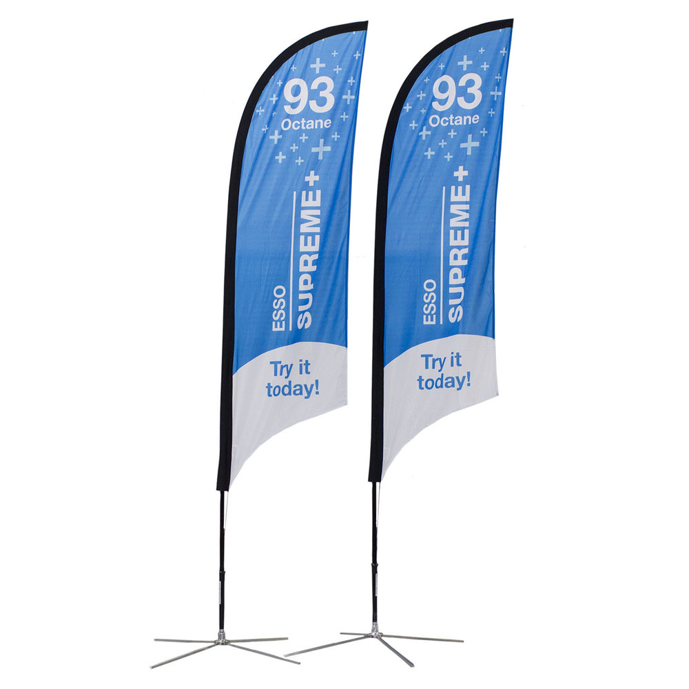 Esso Soft Signs Custom Flags