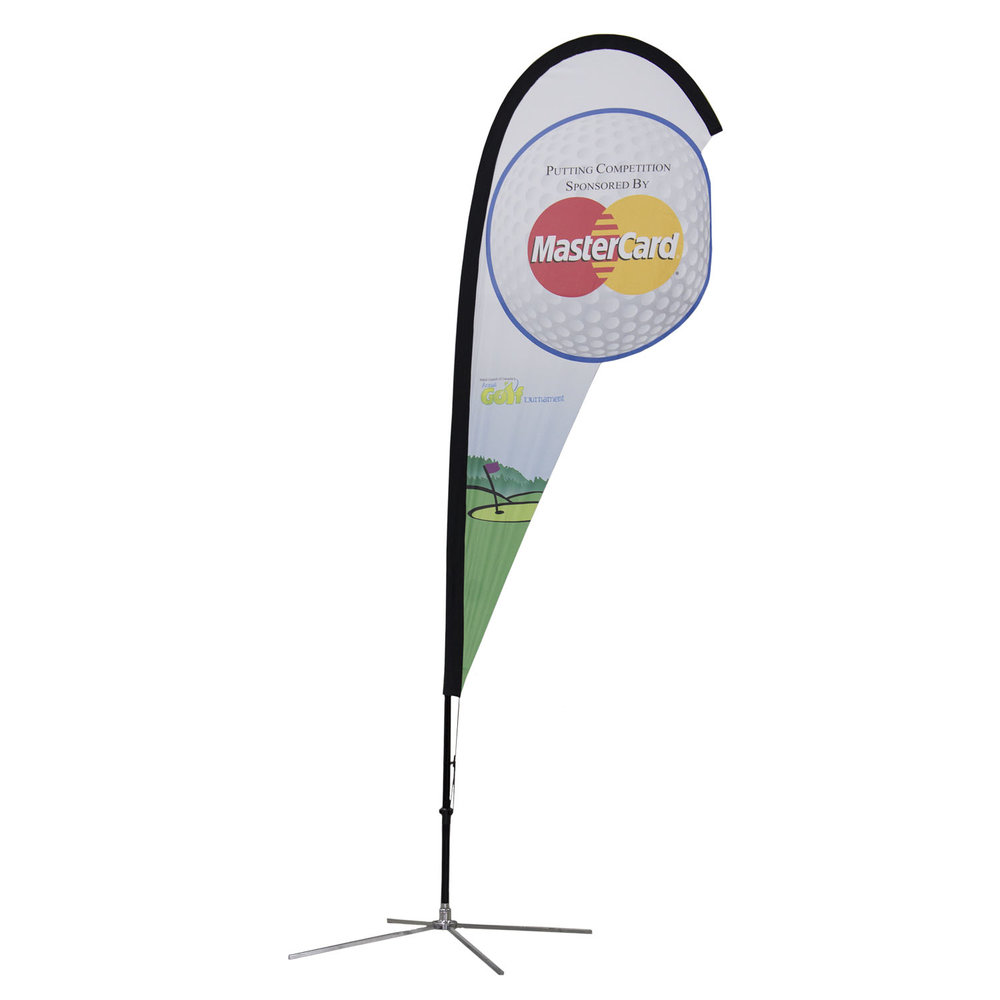 Master Card Soft Signs Custom Flags