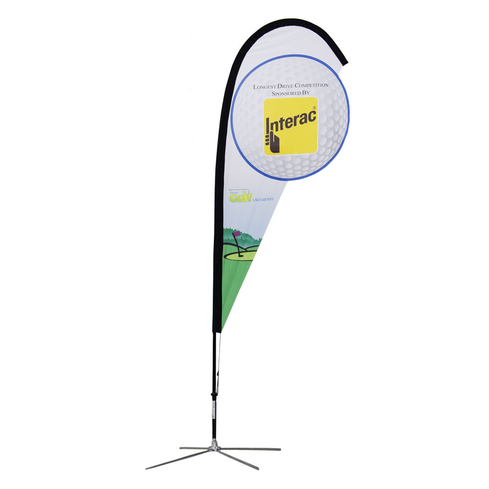 Interac Soft Signs Custom Flags