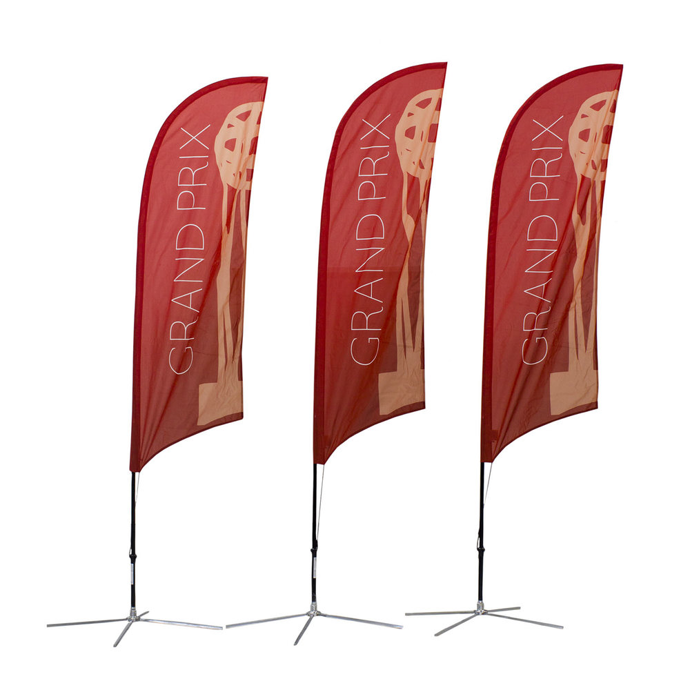 Grand Prix Soft Signs Custom Flags
