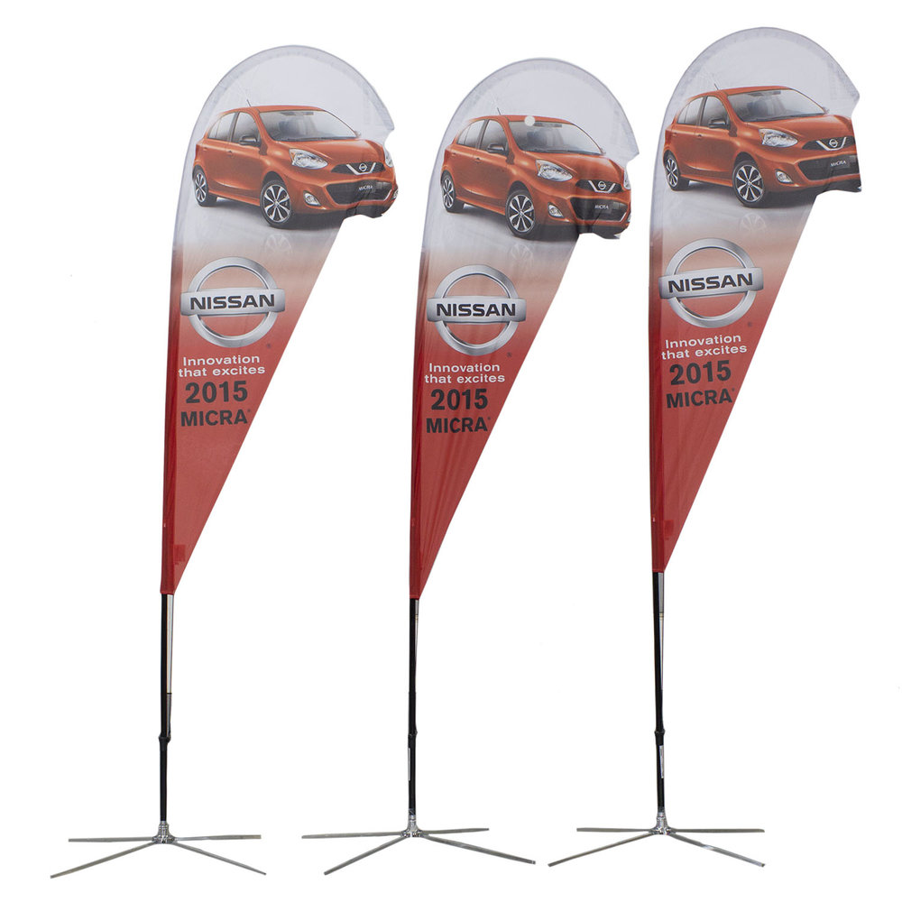 Nissan Soft Signs Custom Flags