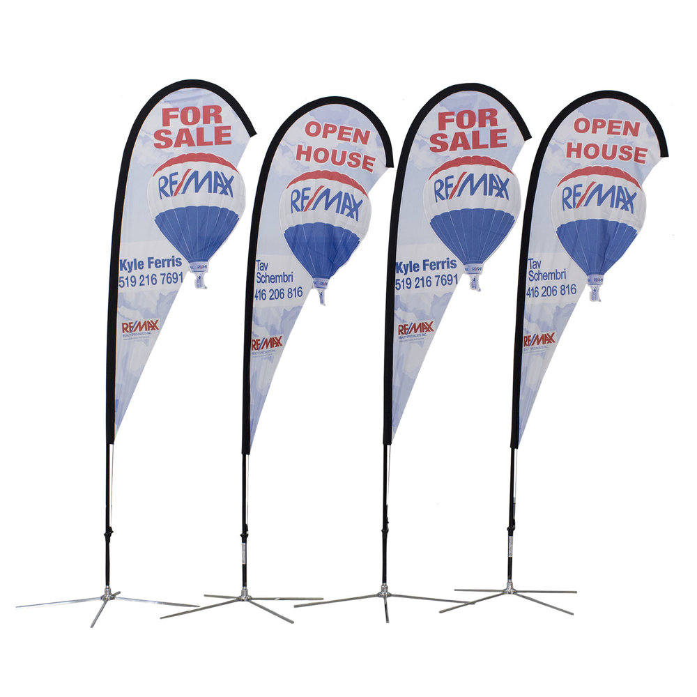 Remax Soft Signs Custom Flags