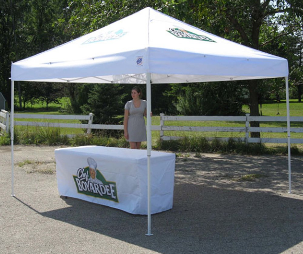 Chef Boyardee Tent