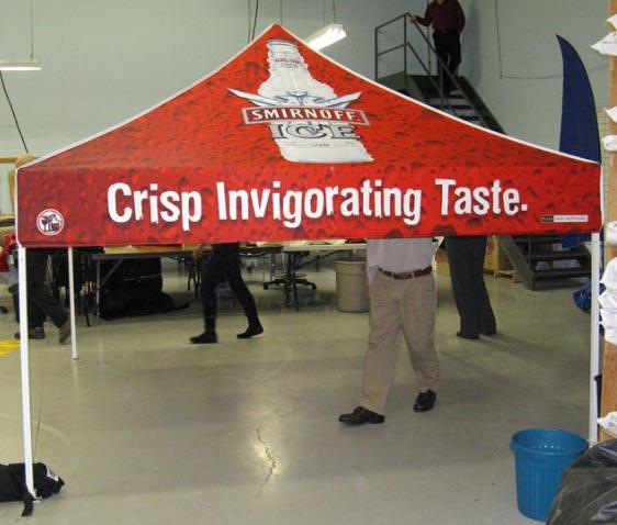 Smirnoff Tent