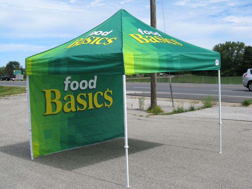 Food Basics Tent