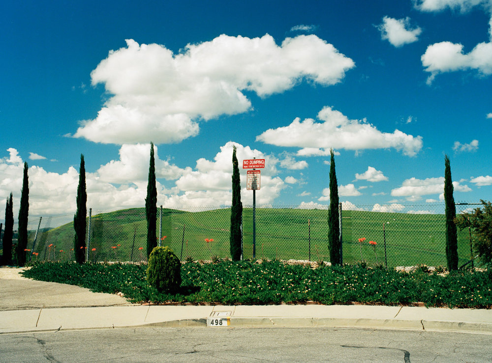 Utopia is an observation of the suburban neighborhoods I was raised in on the edge of Los Angeles County.