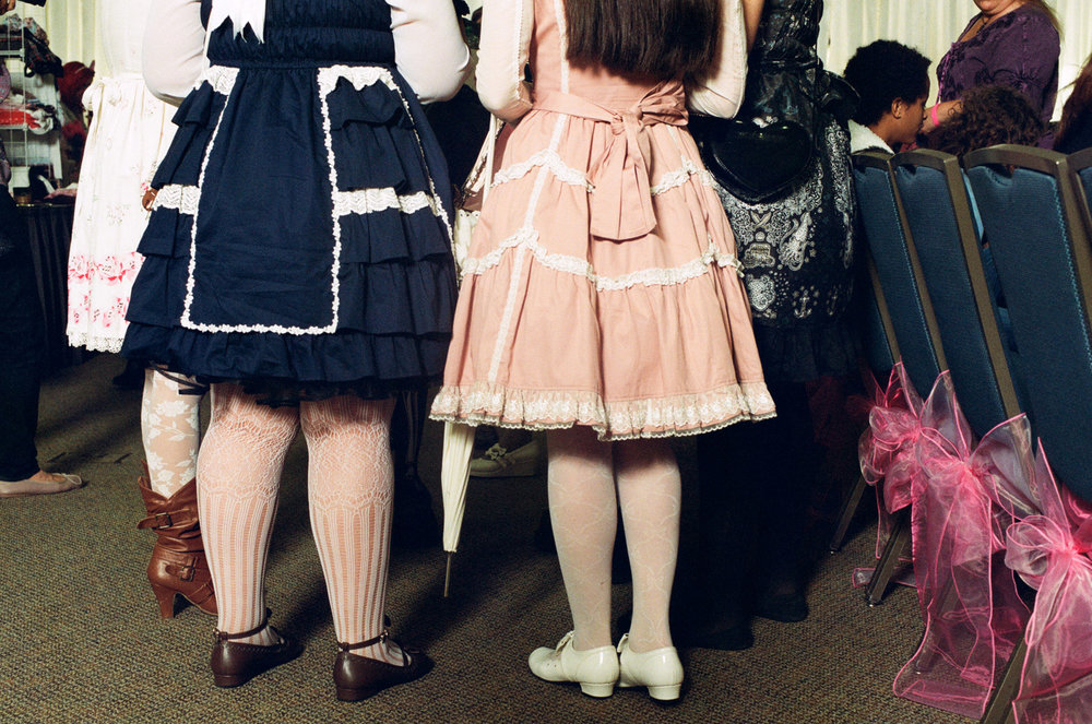 Lolita fashion show in Orange County, CA.