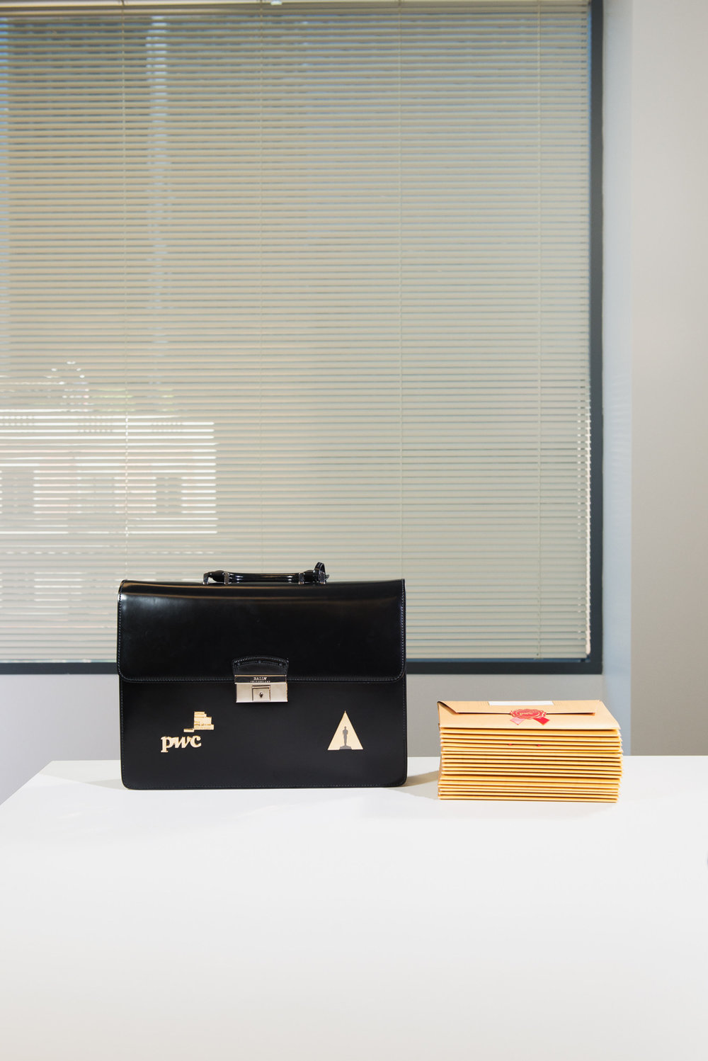 Ballots and briefcase