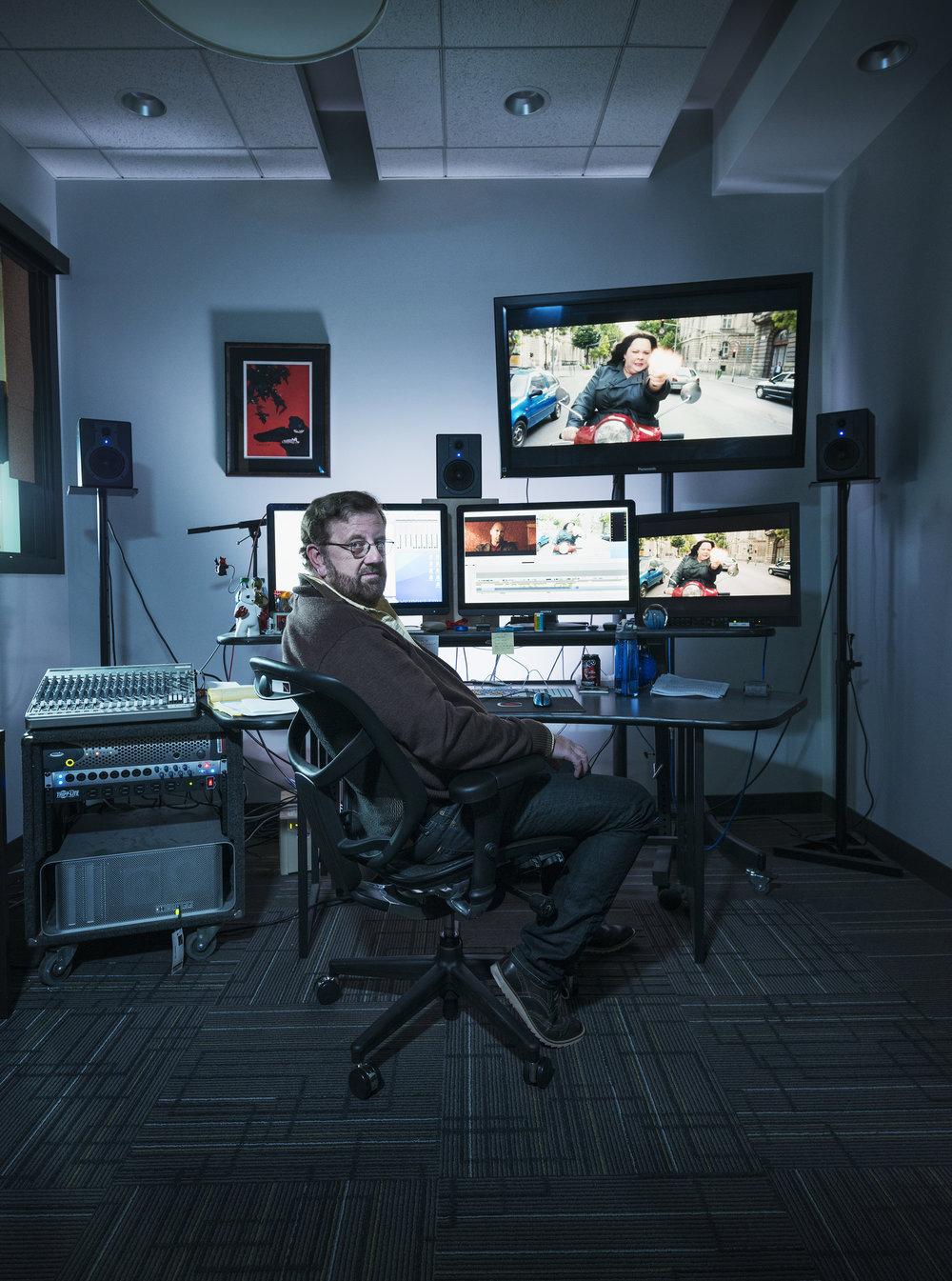 Brent White, Film Editor