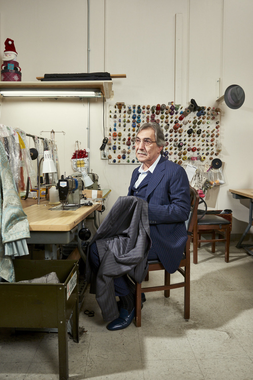 Jack Kasbarian - Head of Men's Tailoring