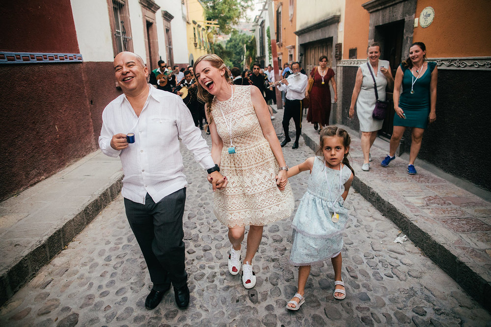 Intimate Civil Wedding and Callejoneada - San Miguel de Allende, Mexico