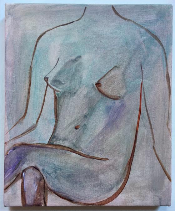Untitled (woman sitting)