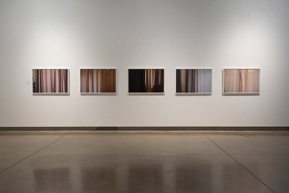 Curtain,  Grimsby Public Art Gallery, Installation View , Photographed by Jay Shuster, 2017